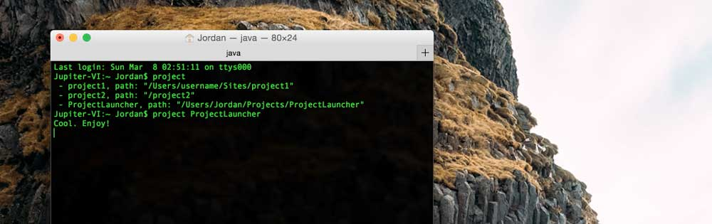 Project Launcher