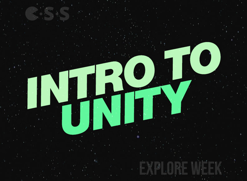 Workshop: Intro to Unity