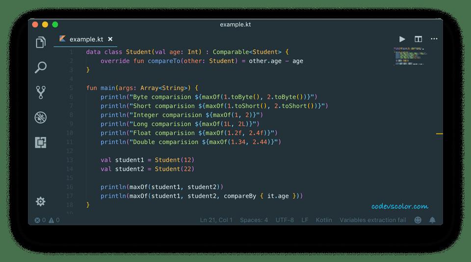 kotlin maxof function example