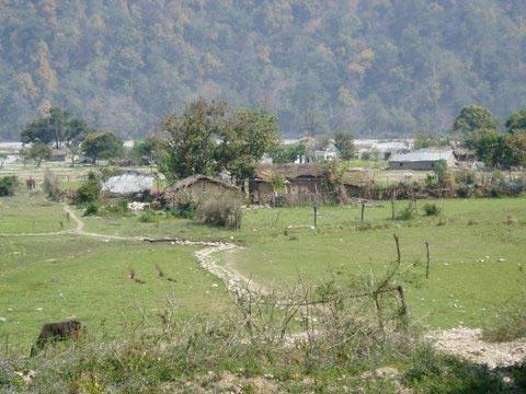 The Village of Sunderkhal on the Eastern boundary of Corbett Tiger Reserve Ramnagar Forest Division – Uttarakhand