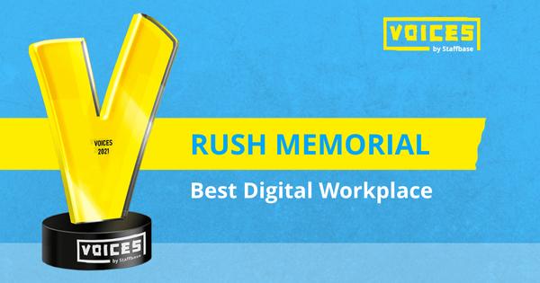 Best Digital Workplace: Rush Memorial