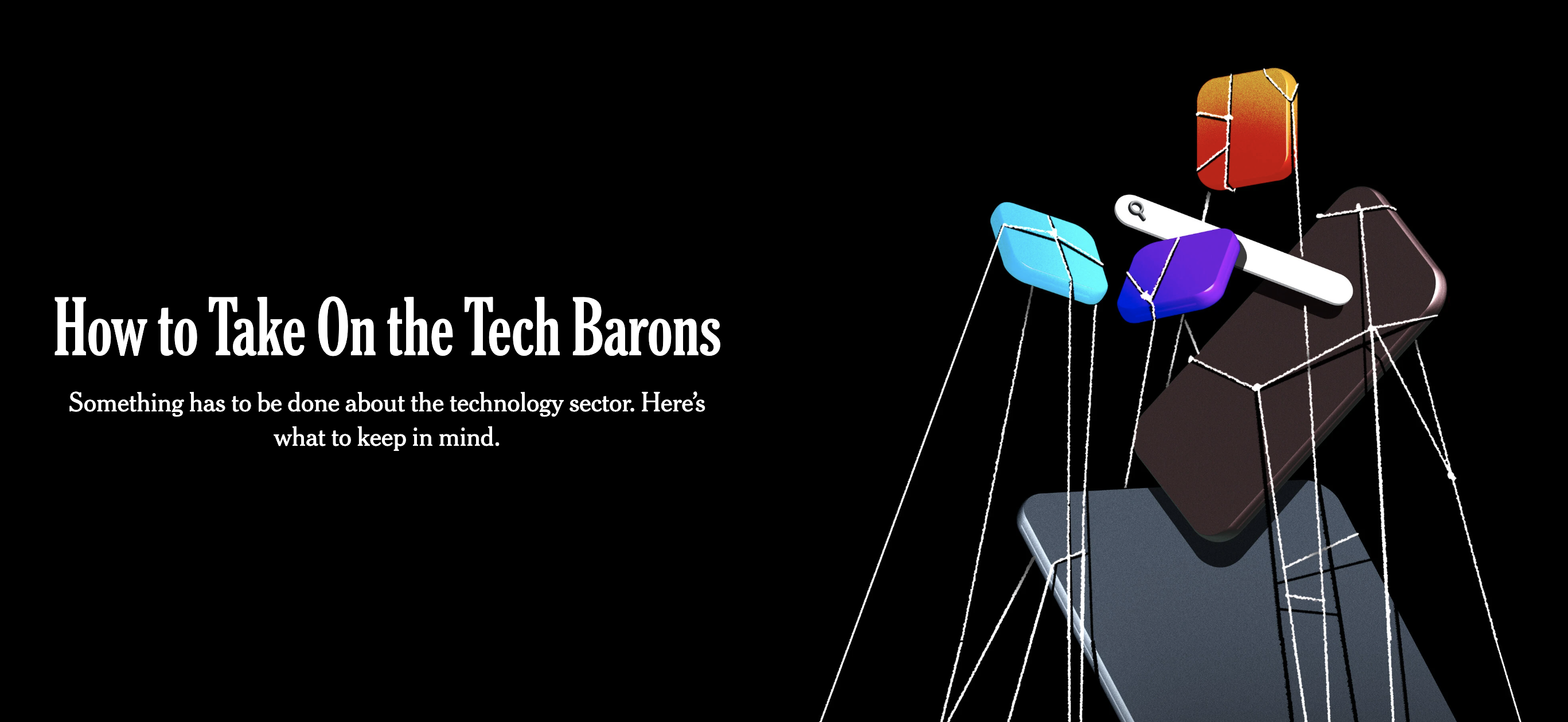 How to Take On the Tech Barons