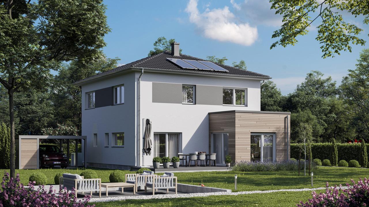 Stadtvilla-Fertighaus