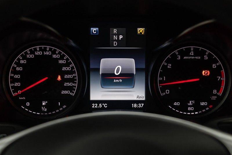 "Mercedes-Benz GLC GLC43 AMG 367pk 4Matic Panoramadak Luchtvering Nightpakket Distronic Keyless Burmester Sportleder+Memory Carbon AmbientLight ComandOnline 21"" Parktronic 360Camera Pdc afbeelding 21"