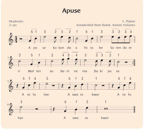Lagu Apuse