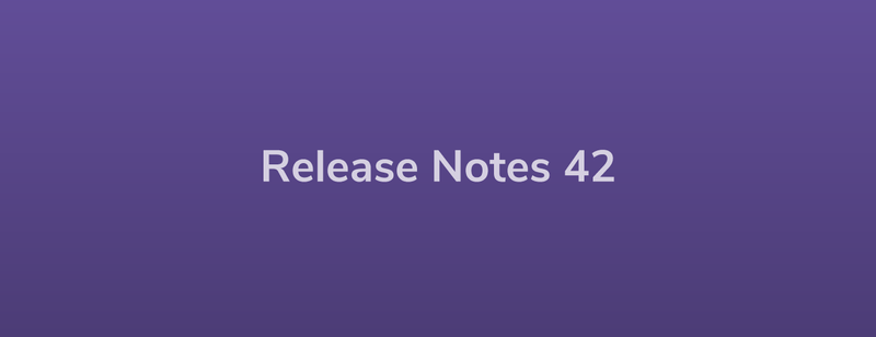 Esper Release Notes – DevRel 42