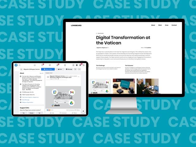 Digital Transformation at the Vatican