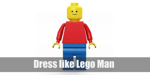 You can go as Lego Man and wear anything, from casual clothes to themed outfits, and it will still fit. All you really need to maintain is a Lego head and Lego hands and you're good to go.