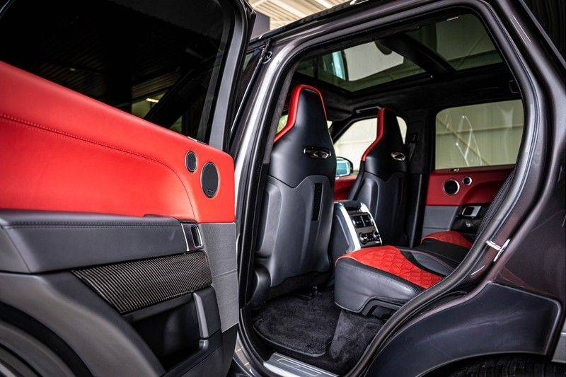 Land Rover Range Rover Sport P575 SVR | Panorama | Stoelkoeling | HUD | Carbon afbeelding 19