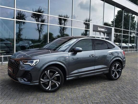 Audi Q3 Sportback 45TFSI 230pk Quattro S-Line Black Optic Pano M-LED Virtual 20-Inch Keyless DAB Stoelverwarming
