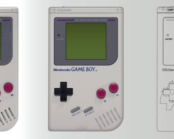 Vector Recreation - Nintendo Gameboy