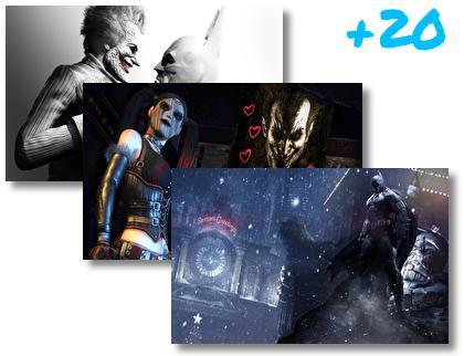 Batman Arkham Origins theme pack