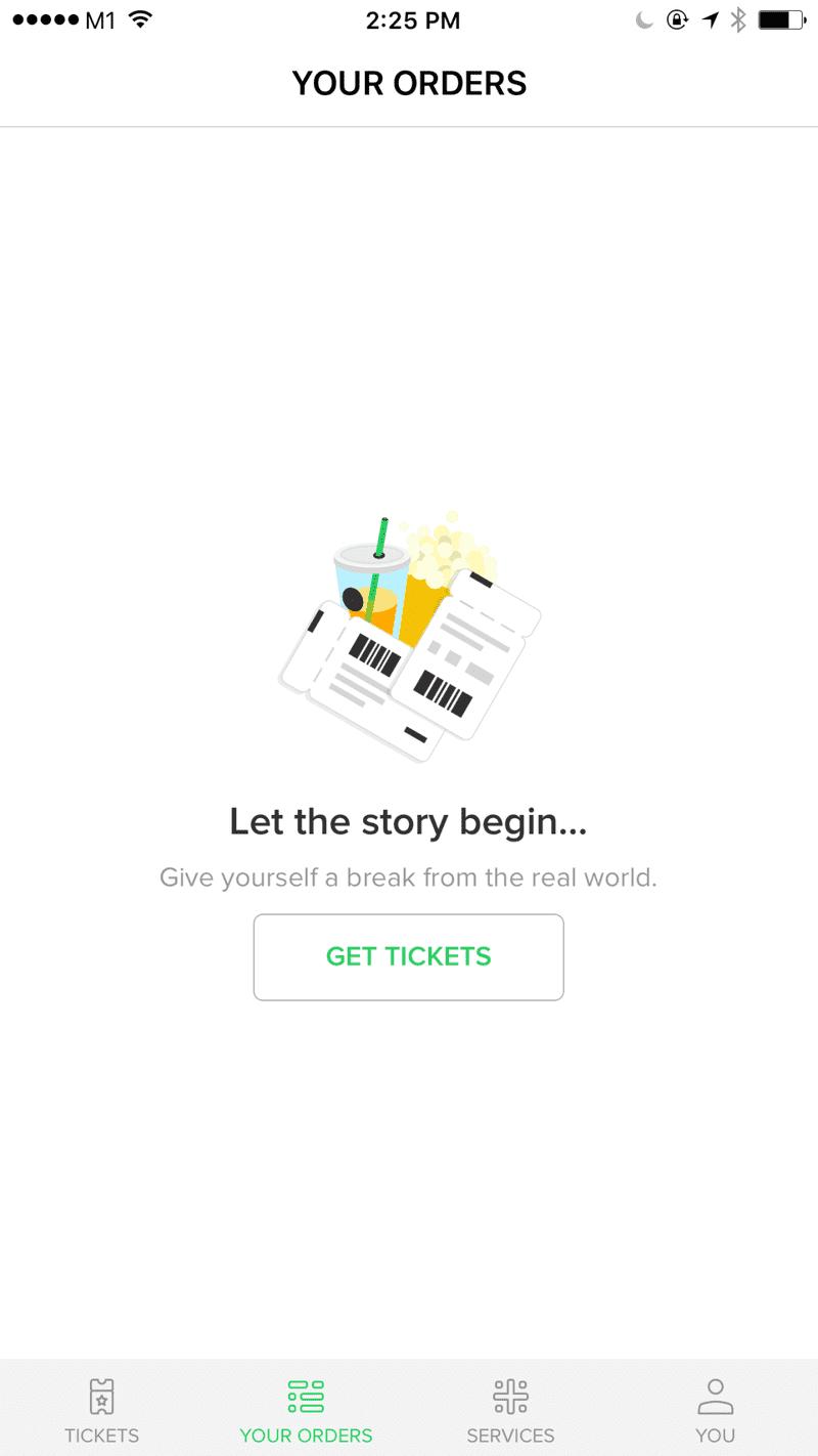 Screenshot of No orders in HonestBee for iOS