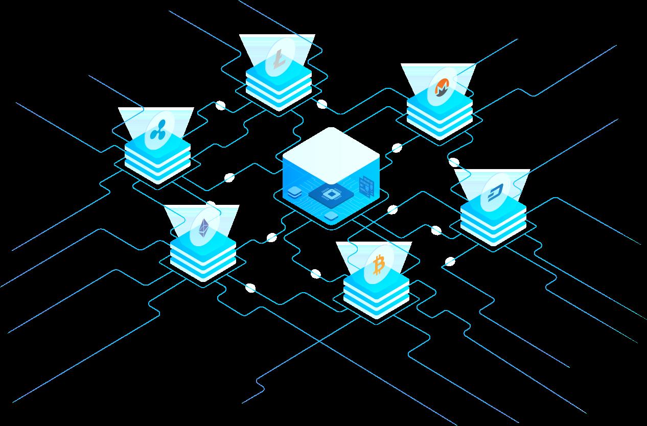 escrow computer server holding crypto assets