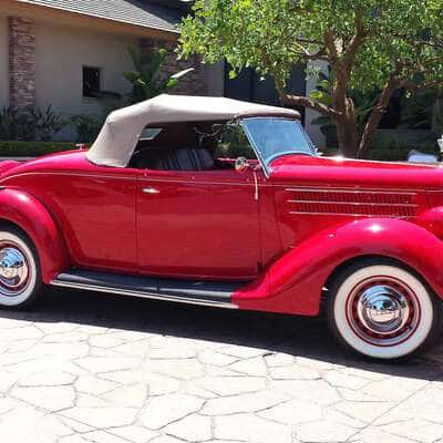 Ford V8 DeLuxe 2 Door Roadster 1936 17