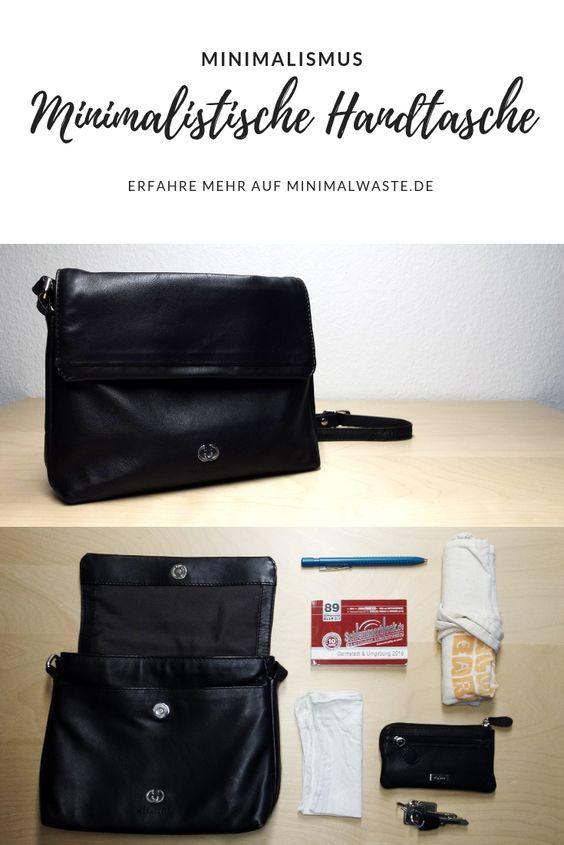 Pinterest Cover zu 'Meine minimalistische Handtasche'