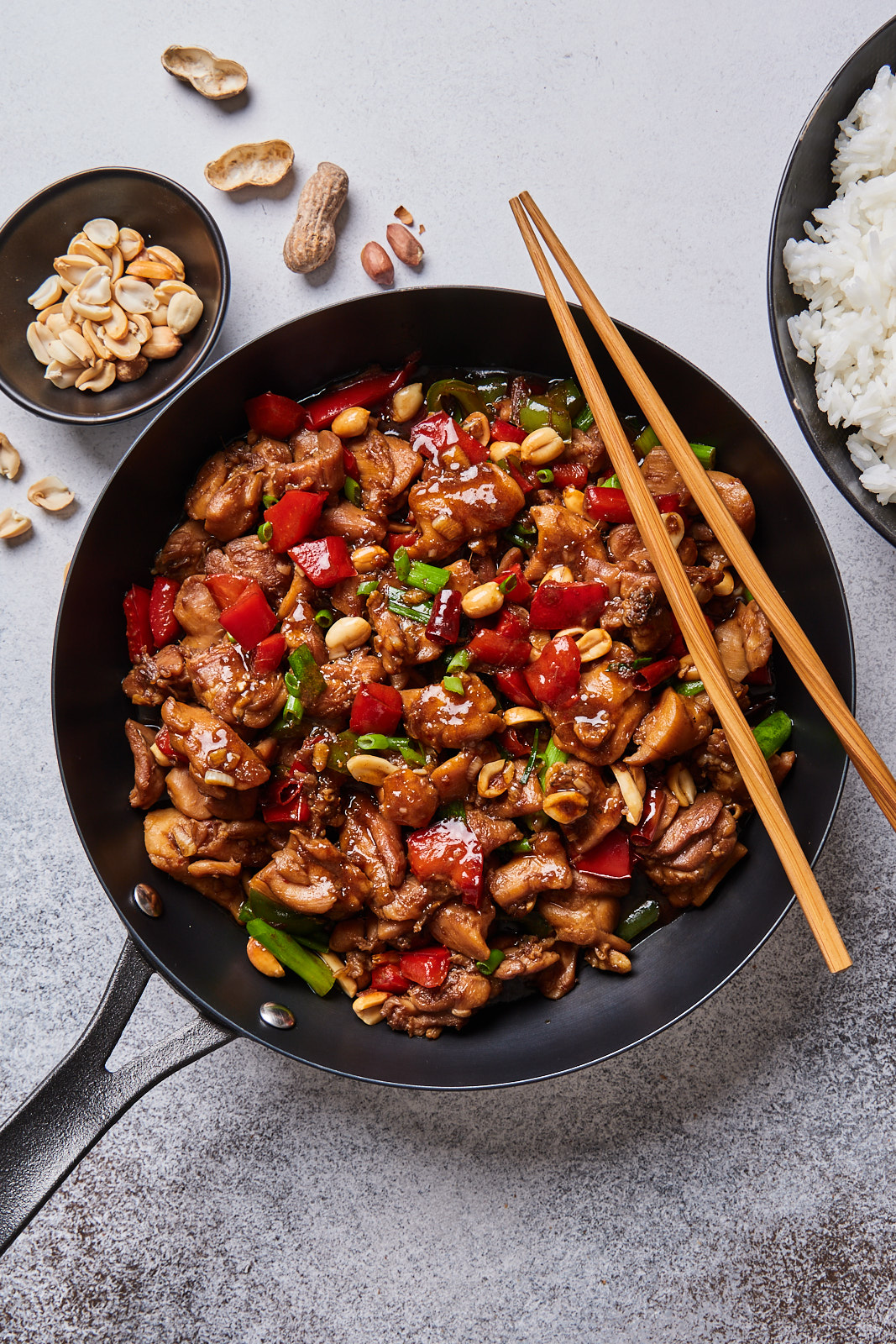 Takeout Style Kung Pao Chicken