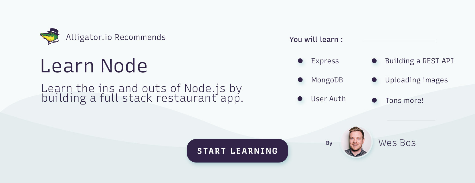 Recommended Node.js video course