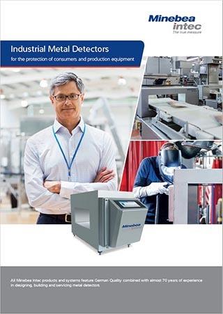 catalog Minebea detectoare de metale
