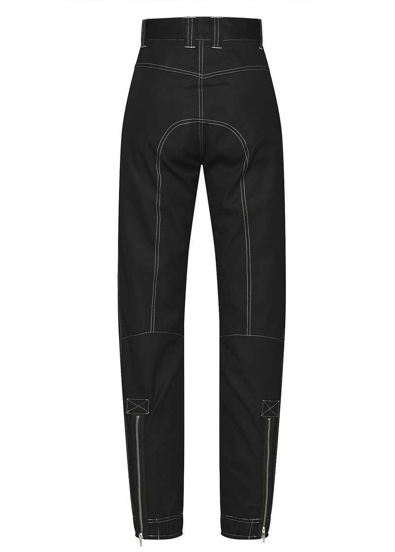 YOLANDA trouser in black. GmbH Spring/Summer 2021 'RITUALS OF RESISTANCE'