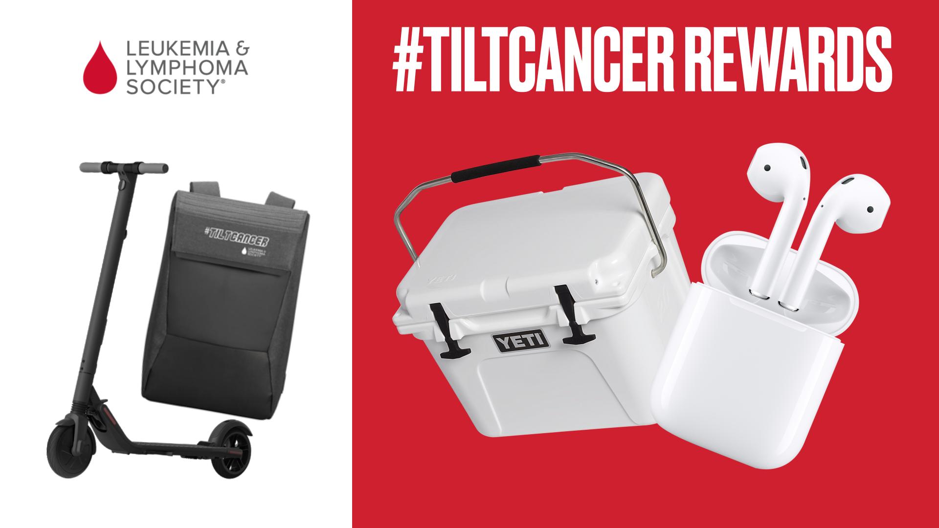 TiltCancer Gaming Setup Giveaway
