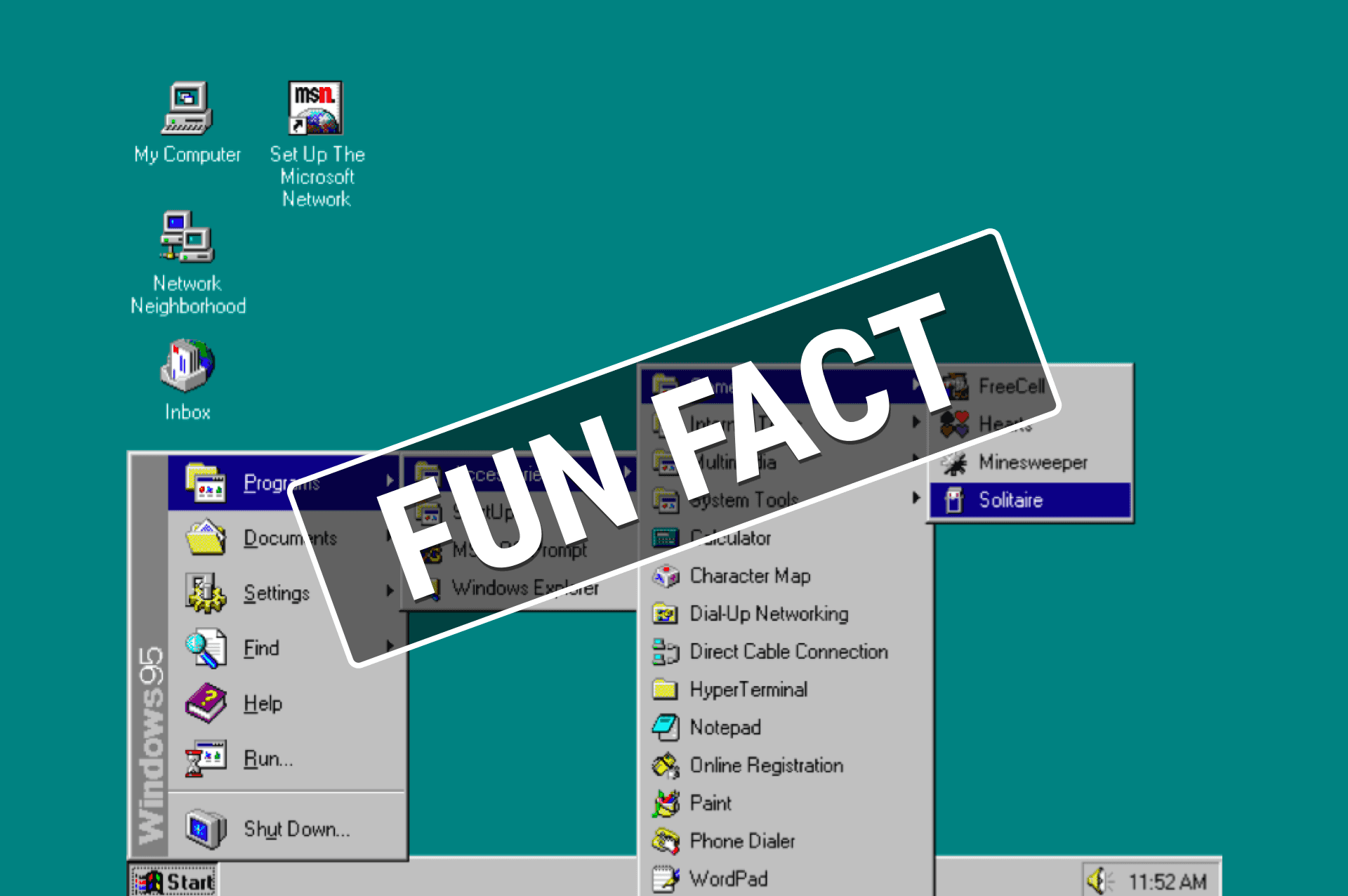 Do you know the True Purpose of Microsoft's Solitaire game?
