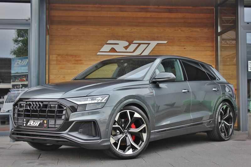 Audi Q8 50 TDI Quattro 3x S-Line 3.0 V6 286pk **HUD/Luchtvering/ACC/Elek.Trekhaak/B&O/Matrix.LED** afbeelding 1