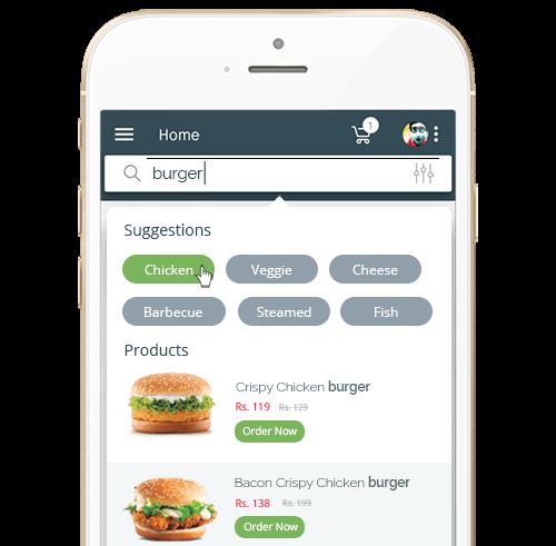Shopify Mobile Search