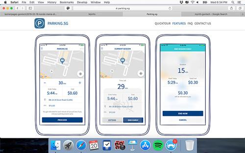 ParkingSG screenshot