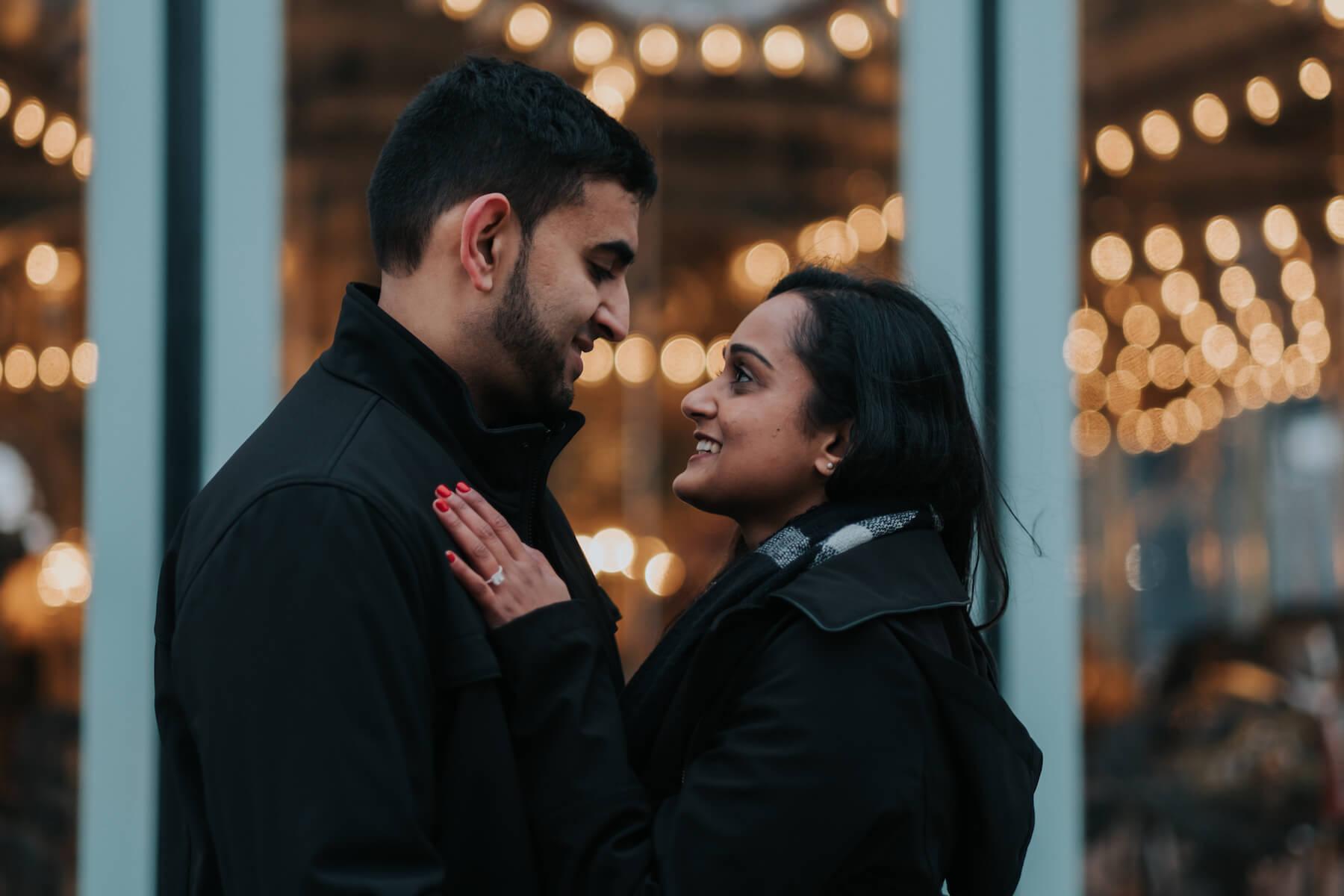 Preya & Neil's Proposal