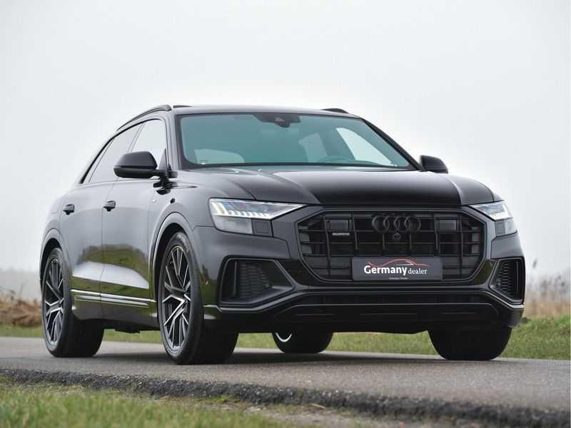 Audi Q8 50TDI 286pk Quattro S-Line Black Optic Lucht RS-zetels B&O High-end Alcant.Hemel TV Head-Up Standk ALLE OPTIES! afbeelding 3
