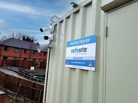 Construction Site CCTV Surveillance Cameras