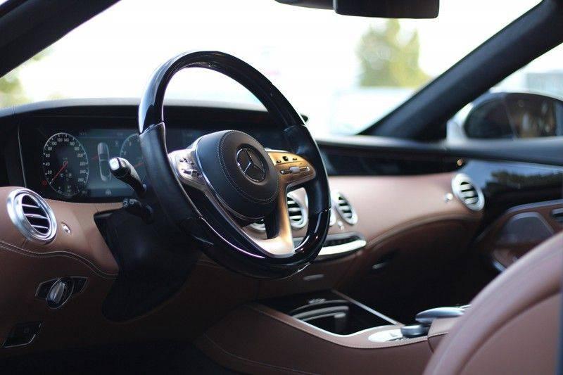Mercedes-Benz S-Klasse Cabrio 560 Premium Plus AMG-pakket, Burmester, 360 camera, Alcantara hemel, Stoelkoeling afbeelding 9