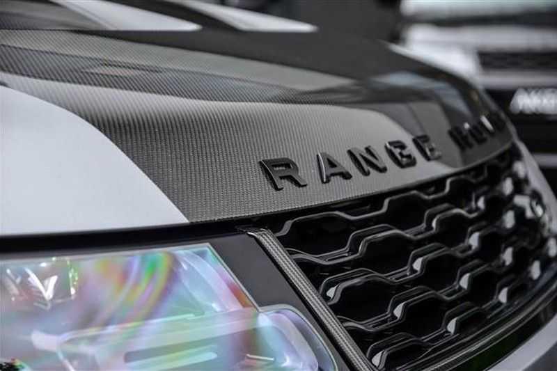 Land Rover Range Rover Sport 5.0 SVR CARBON+PANO.DAK+ACC+HEADUP NP.250K afbeelding 16