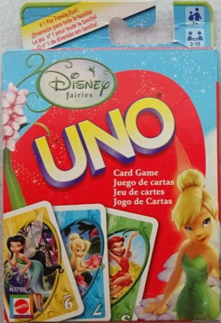 Disney Fairies Uno