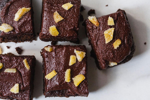 Chocolate Ginger Bars