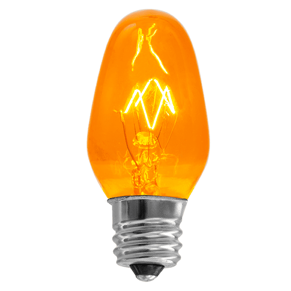 15 Watt Light Bulb - Orange