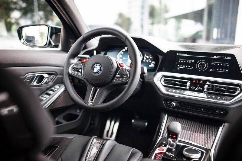 BMW M3 Competition G80 *HUD / M Driver's Pack / Laser / Keramisch / Harman-Kardon / Schaalstoelen* afbeelding 4