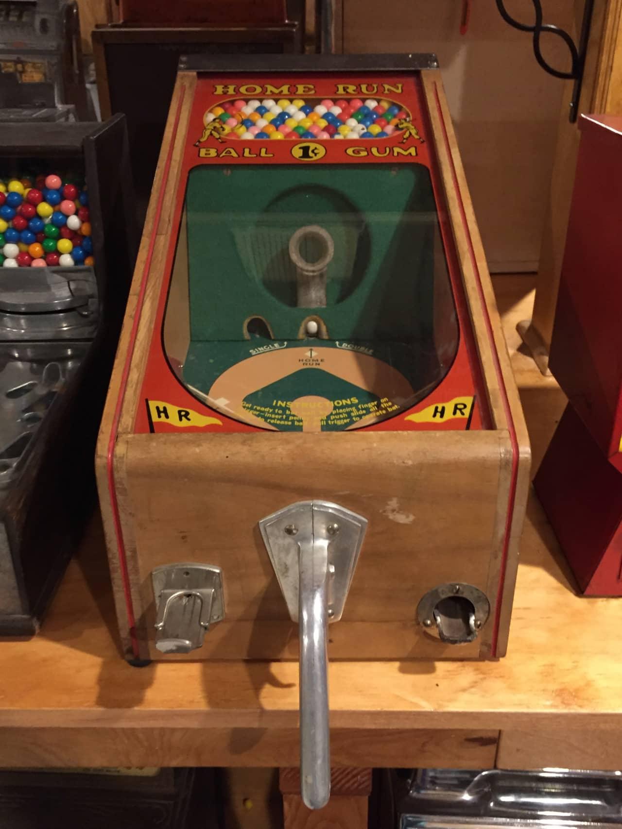 Victor Vending Home Run Baseball Shooter