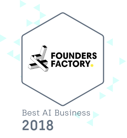 Founders Factory - Best AI Business 2018