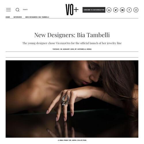 New Designers: Bia Tambelli