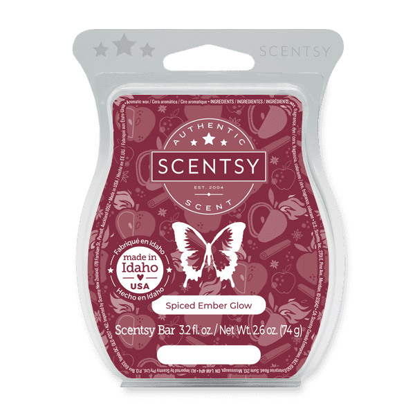 Spiced Ember Glow Scentsy Bar