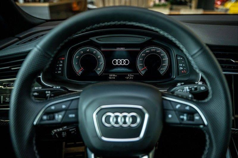 Audi SQ8 4.0 TFSI quattro | Bang & Olufsen | HUD | Leder valcona met ruit | Stoel massage | Alcantara | Nachtzicht | PANO | afbeelding 8