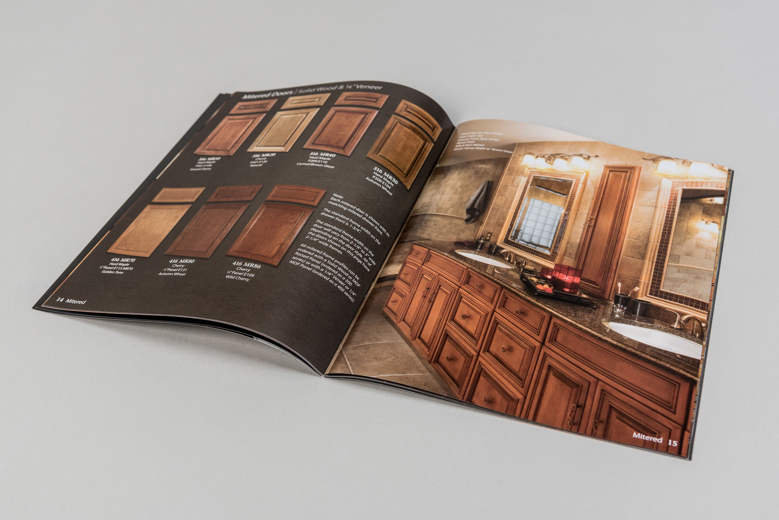 Valley Custom Door Product Catalog Spread 2