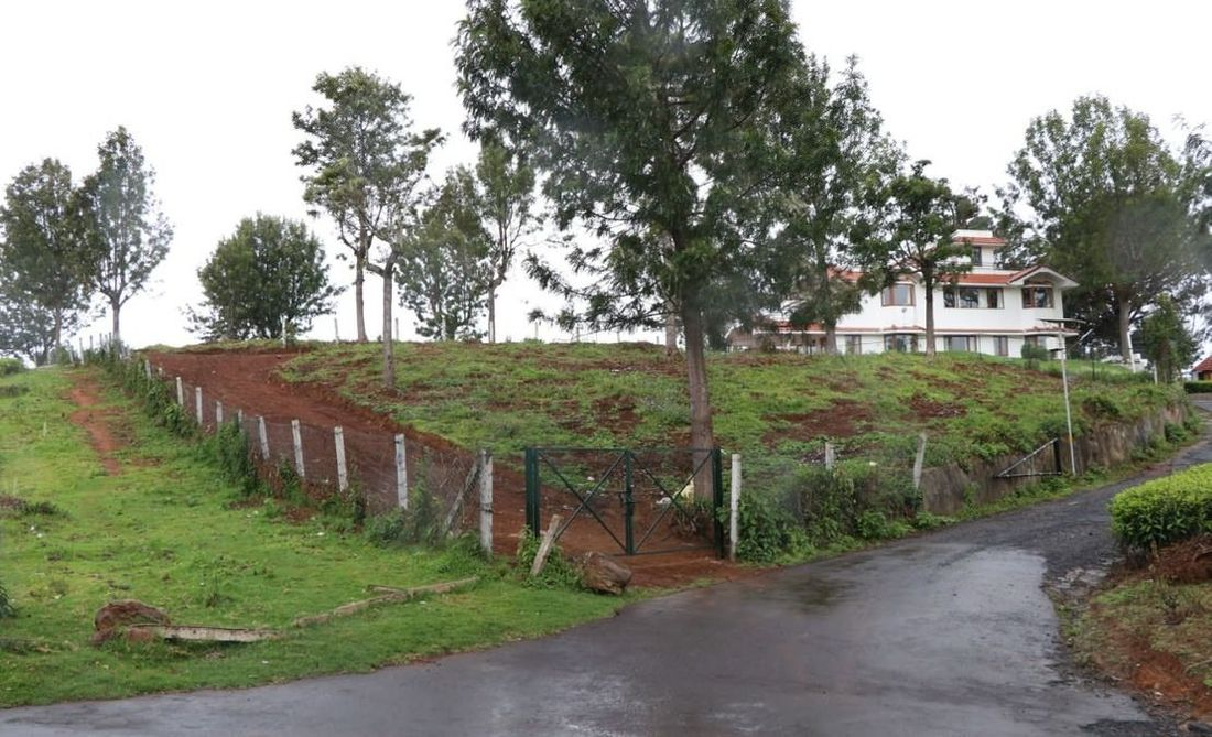 View of the Hillsview hillock