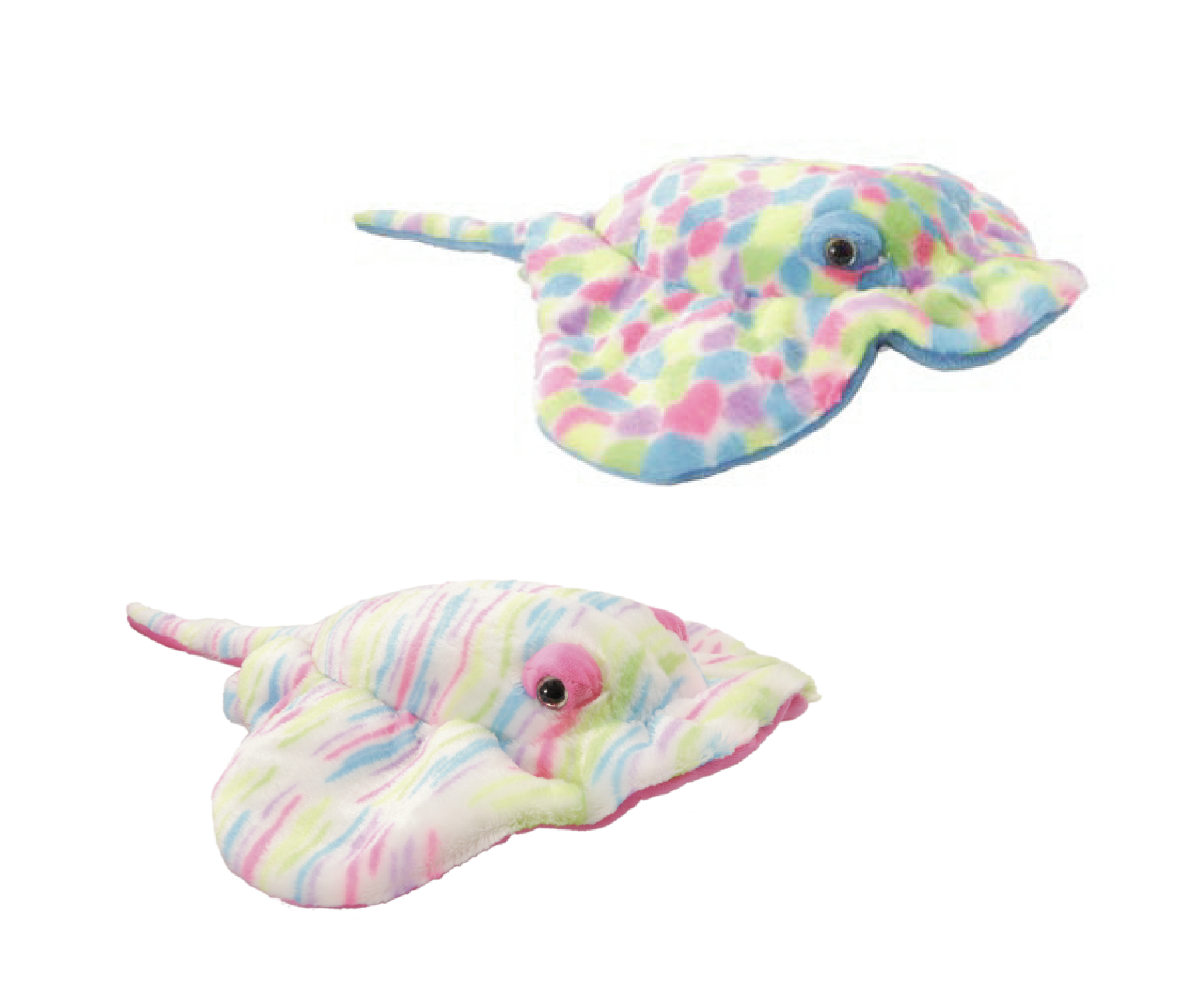 "The Petting Zoo: 22"" Rainbow Ray Assortment"