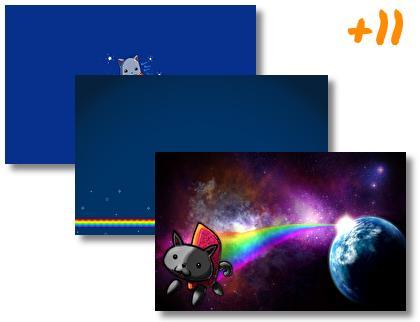 Nyan Cat theme pack