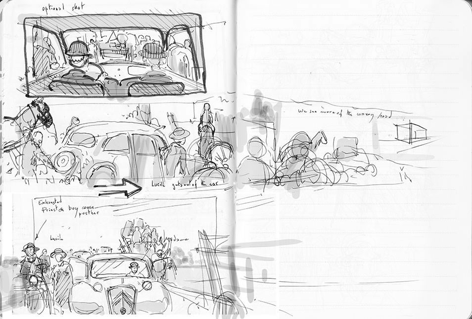 Suite Française first rough storyboard 02