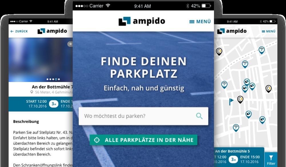 Ampido mobilescreens