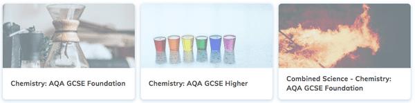 AQA GCSE Chemistry Revision